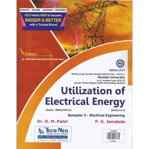 Utilization of Electrical Energy - Tech Neo Publications